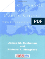 (CESifo Book Series) James M. Buchanan, Richard a. Musgrave - Public Finance and Public Choice_ Two Contrasting Visions of the State-The MIT Press (1999)