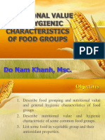 Nutrition Values- Khanh