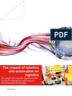 The Impact of Robotics and Automation on Logistics