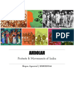 Andolan - A Semiotic Analysis of Protests in India