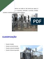 CLASSIFICAÇÃO DE SUBESTAÇÕES
