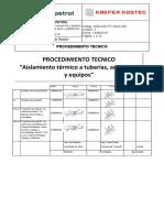 0254-KAK-PT-InMO-001-04 Aislamiento Termico de Tuberias Accesorios y Equ...