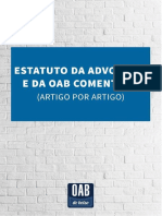 ESTATUTO DA OAB COMENTADO