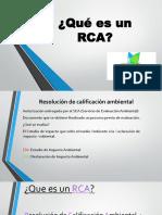 Presentacion Qué Es Un RCA