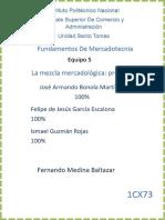 Equipo 5 La Mezcla Mercadologica Producto