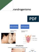 Hiperandrogenismo y SOP