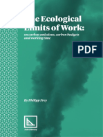 The Ecological Limits of Work Final