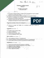Examen política social