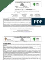 FO-TESCo-51 Instrumentacion Ingeniería de Costos 18-19 1 FQA OOCh