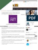 cara install net framework
