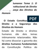 Direitos Humanos Material de Estudo
