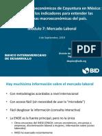 Indicadores Macroeconómicos de Coyuntura en México. Módulo 7