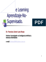 Aprendizaje No Supervisado