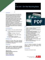 INPSNM-SA14 Remote Terminal Unit - Din Rail Mounting Basic Course-Rev-B