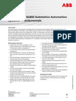 CHP107 – IEC 61850 Substation Automation Systems – Fundamentals