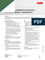 CHP126 – Substation Automation System - Maintenance
