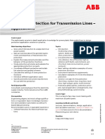 CHP132 – Protection for Transmission Lines - Applications