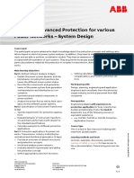 CHP188 – Advanced Protection for Various Power Networks - System Design
