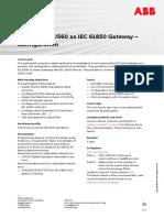 CHP175 – RTU560 as IEC 61850 Gateway - Configuration