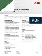 CHP520 – Utility SDH Networks - Fundamentals