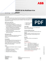 CHP552 – FOX515H & Hs Multiservice Utility - Multiplexer