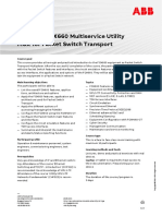 CHP557 – FOX660 Multiservice Utility MUX for Packet Switch Transport