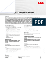 CHP586 – IS3000 SIP@NET Telephone System