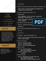 Resume (in Progress)