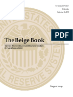 Fed Beige Book Sep. 2019