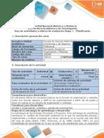 Guia de Actividades y Rubrica de Evaluacion Etapa 1-Planificacion