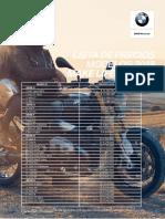 BMW Motorrad Lista Precio Chile