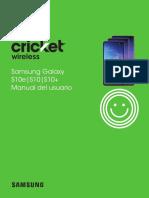 Samsung Galaxy s10 User Guide Es