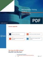 RPA Awareness Training Lesson 2