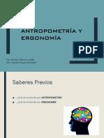 Antropometría y Ergonomía / UPN