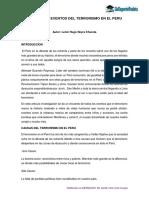 Terrorismo en El Peru, Publicado