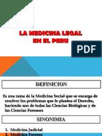 La Medicina Legal en el Perú.ppt