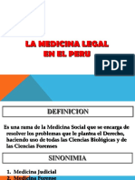 La Medicina Legal en el Perú.ppt