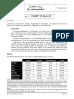 Ejercicios resueltos Economía 1º - Tema 1.DOC