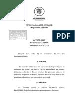 Corte Suprema de Justicia - Sentencia Pruebas