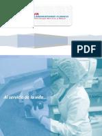 LAb CLINICO JR Porta Folio de Servicio NUEVO