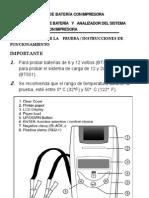 Manual Probador de Bateria Con Impresora