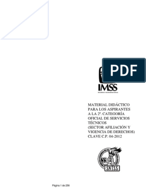 2a Categoría Oficial De Servicios Técnicos Afiliación