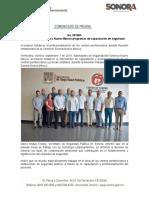 1-09-19 Intercambian Sonora y Nuevo México programas de capacitación en seguridad