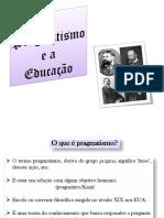 Pragmatismo Dewey Escola Laboratório