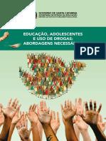 Caderno - Educação Adolescente e Uso de Drogas Abordagens Necessárias