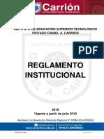 Reglamento Institucional