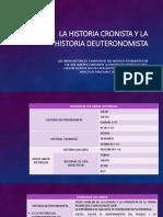 La Historia Cronista y La Historia Deuteronomista