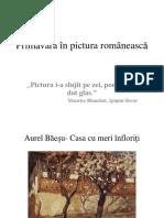 Primavara in Pictura Romaneasca