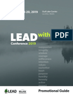 LEAD 2019 Promotional Guide