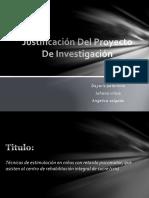 Justificación Del Proyecto de Investigación